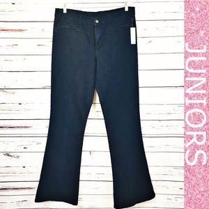 Revolt Flare Dark Wash High Rise Blue Jeans NWT